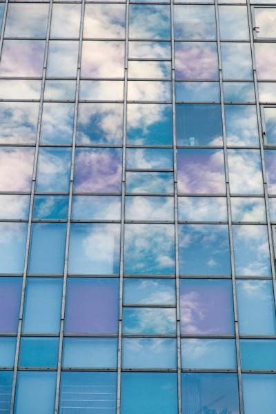 不思議な窓ガラス