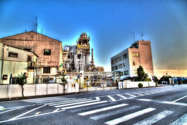 川崎工場夜景HDR_1