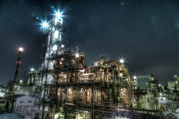 川崎工場夜景HDR_11
