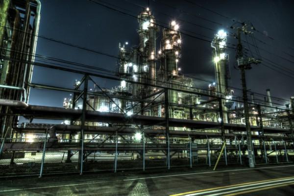 川崎工場夜景HDR_13