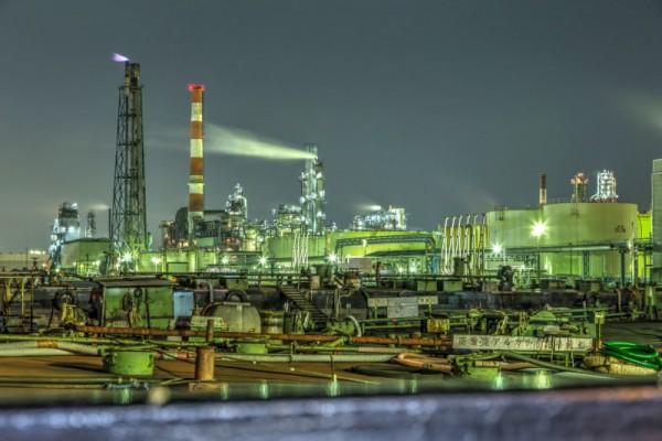 川崎工場夜景HDR_4