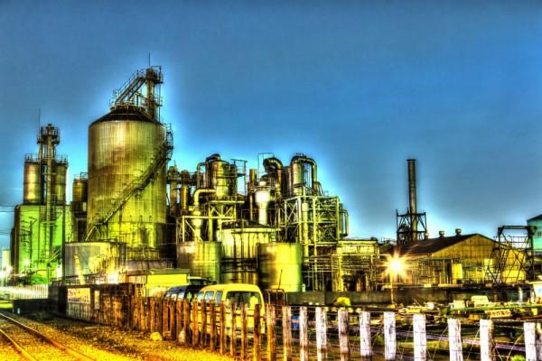 川崎工場夜景HDR_5