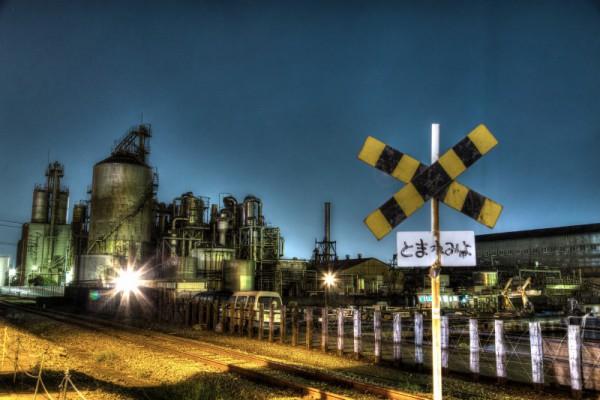 川崎工場夜景HDR_6