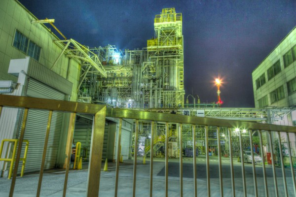 川崎工場夜景HDR_8
