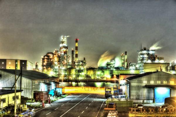 川崎工場夜景HDR_9