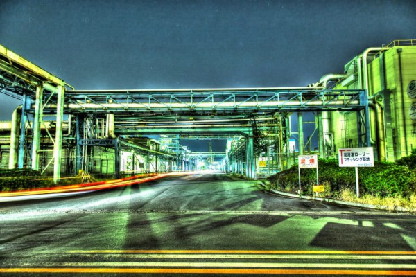 川崎工場夜景HDR_14