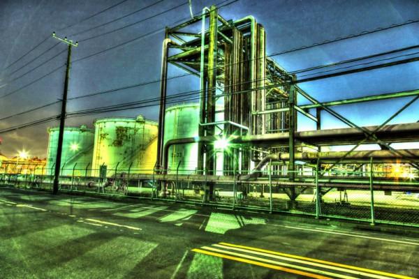 川崎工場夜景HDR_15