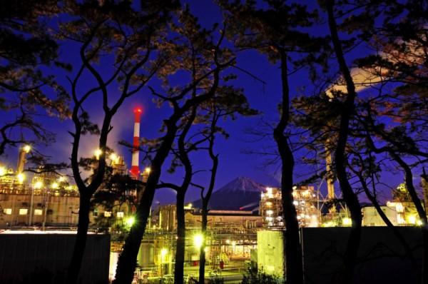 富士市工場夜景1
