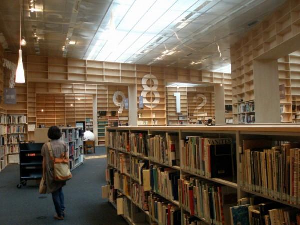 武蔵野美術大学 図書館2