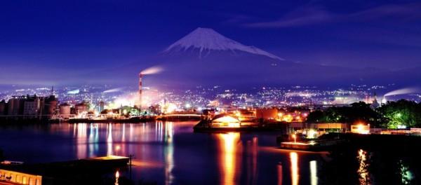 富士市工場夜景2