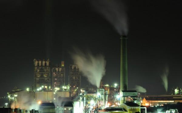 周南市工場夜景2