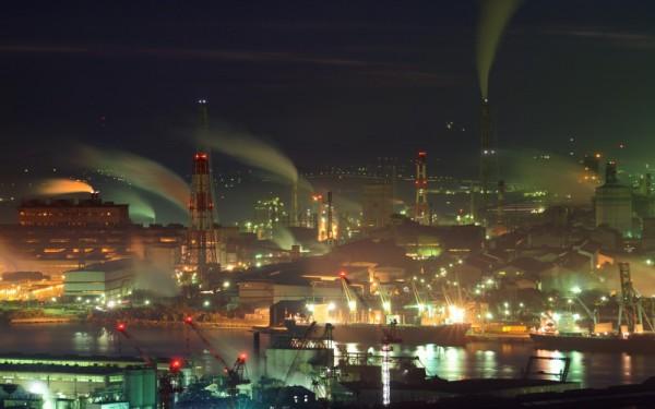 北九州市工場夜景1