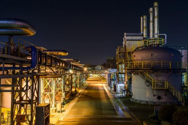 尼崎市工場夜景2