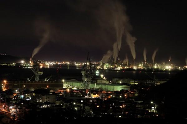 室蘭市工場夜景2