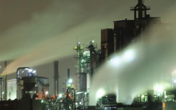 北九州市工場夜景2